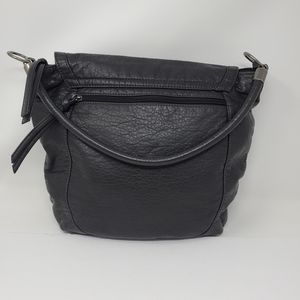 Mossimo Supply company black faux leather bag